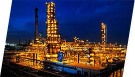 Крупнейший нефтеперерабатывающий завод
