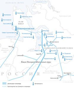 Полуостров Ямал— регион стратегических интересов ПАО «Газпром»