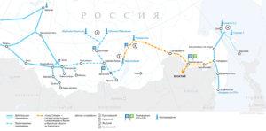 Газотранспортная система на Востоке России