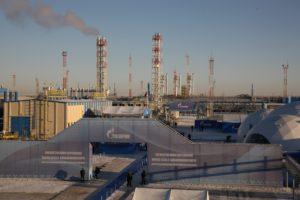 Газовый промысел Бованенковского месторождения